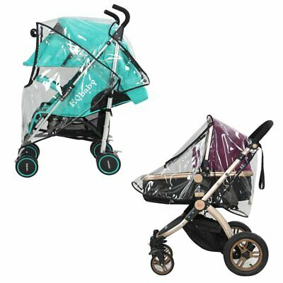 Hot Rain Cover Raincover For Universal Buggy Pushchair Stroller Pram Baby Car US