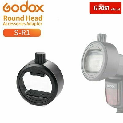 AU Godox S-R1 Flash Speedlight Adapter F Godox TT685 V860II TT600 Yongnuo Flash