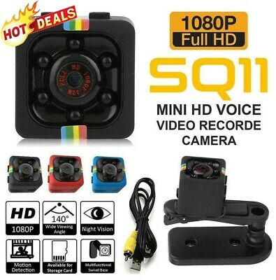 SQ11 Spy Hidden DV DVR Camera Full HD 1080P Mini-Car Dash Cam IR Night-Vision