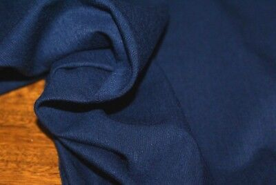 Blue Christine Knit Jersey Fabric With Stretch, Selling By The Metre