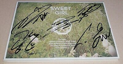 B1A4 SWEET GIRL BOY ver 6th Mini Album K-POP REAL SIGNED AUTOGRAPHED PROMO CD