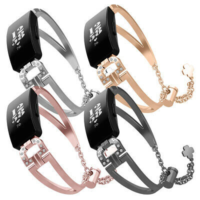 REPLACEMENT METAL DIAMOND Band Strap Wristband Bracelet For