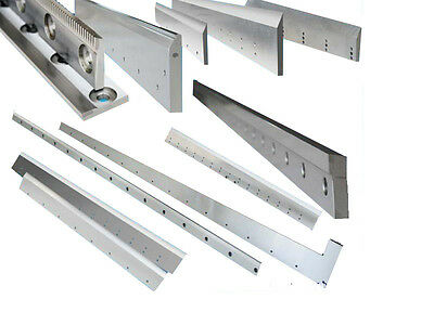 """New 8' x 1/4"""" Metal Guillotine Blades Compatable with Pearson Shear"""
