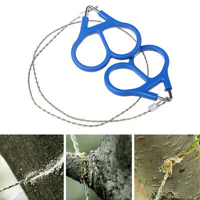 Wire Saw Hand Chainsaw Stainless Camping Outdoor Survival Emergency Tool Pocket