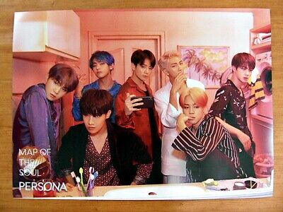 BTS - MAP OF THE SOUL : PERSONA (Ver. 2) [OFFICIAL] POSTER *NEW* K-POP