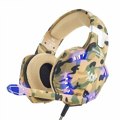 3.5mm G2600 Gaming Headset MIC LED Surround Stereo for PC Laptop PS4 Xbox One S