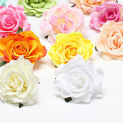 Beautiful Bridal Rose Flower Hairpin Floral Hair Clip for Wedding Party Gift New