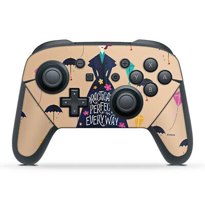 Nintendo Switch Pro Controller Folie Aufkleber Practically Perfect Mary Poppins