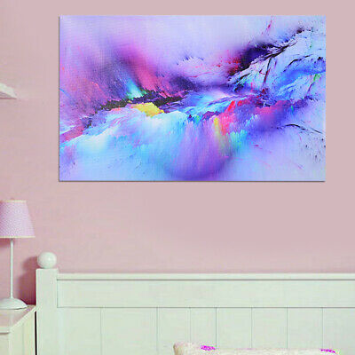 Canvas Picture Abstract Style Figure Wall Art Oil Painting Painted Poster Decor