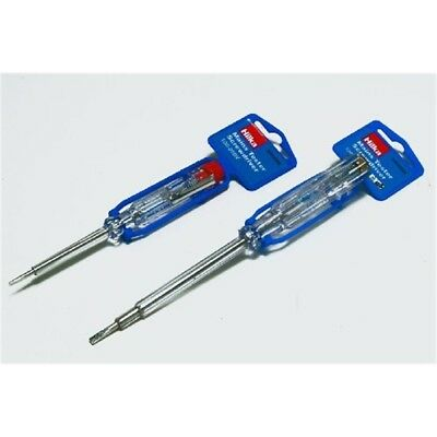 Hilka Mains Tester Small - Screwdriver Suitable 220250 Slotted Volts