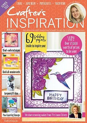 Crafters Companion - CRAFTERS INSPIRATION - Issue 22 Spring Edition FREE UK P&P
