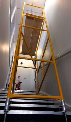 Scaffold Tower PLUS Stairwell Tower kit - FREE DELIVERY included