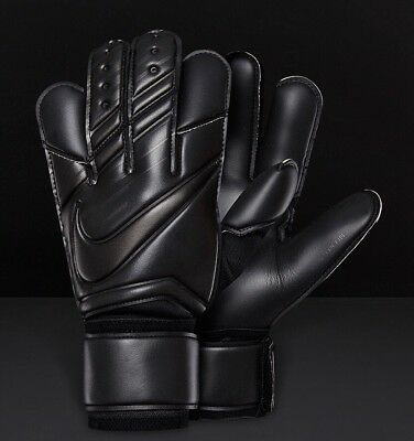 Nike GK Vapor Grip3 Goalkeeping Gloves GS0347-011 Black Size 9.5 New