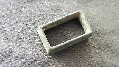 VR Post Medieval bronze War of Rose's belt slide. Please read description. L132k