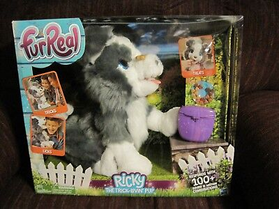 Furreal Ricky The Trick-Lovin' Pup 100+ Sound & Motion Combinations--New