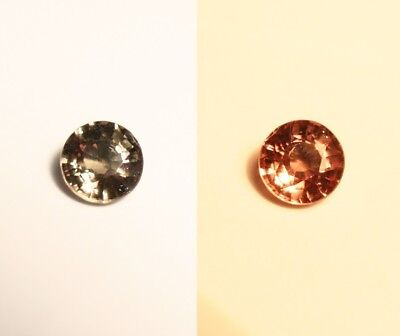 0.43ct Colour Change Garnet - Custom Cut Gem with Rare Superb Colour Change