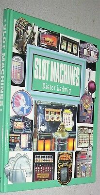 Vintage SLOT MACHINES Book 1890s - 1950s History Great COLOR Photos VG