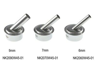 Set of 3 Angled Nozzles For Quick 861DW Rework Station
