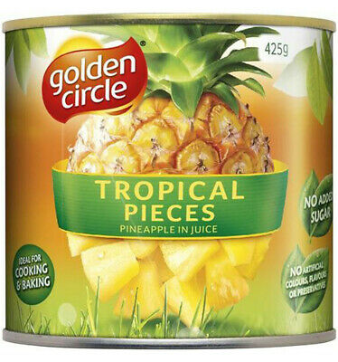 Golden Circle Pineapple Pieces In Natural Juices 425gm