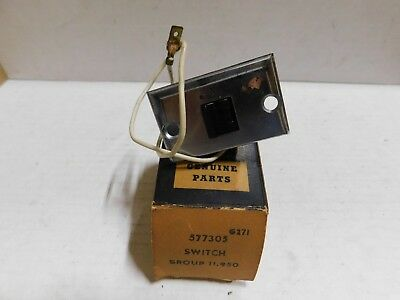 577305 1960-61 Olds Courtesy Lamp Switch With Escutcheon