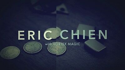 coin by eric chien coin magic, magia con le monete instant download