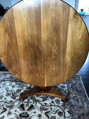 Victorian Round Tilt Top Breakfast Table, decent  condition for age