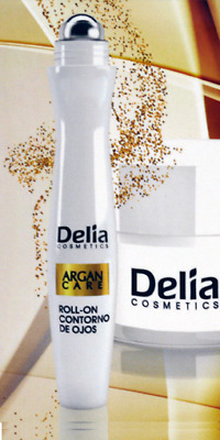 Delia Argan Care Under Eye Roll-On Wrinkles Smoother