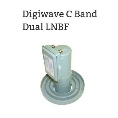 DMS International LNB BSC421 Single C-Band Digital Satellite HDTV FTA LNBF 6 Lot