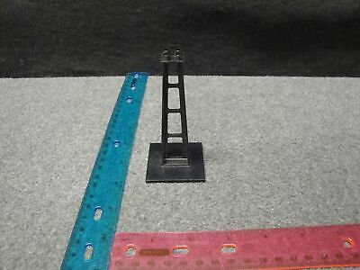 LEGO PART SUPPORT 6x6x10 STANCHION QTY 1 BLACK (2681) AUTHENTIC LEGO BRAND