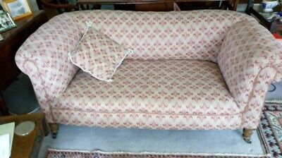 Lovely Victorian upholstered drop end sofa