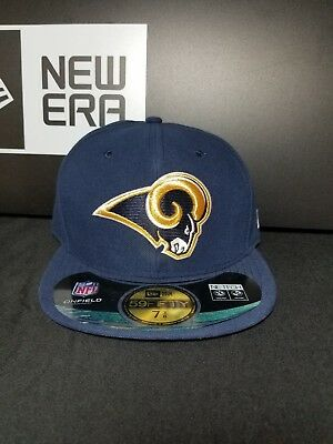 the latest a497a ca991 Saint Louis Rams New Era 59Fifty Fitted NFL Hat Cap Size 7-3
