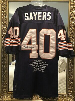 09b5dab6 GAYLE SAYERS MITCHELL & Ness Chicago Bears Throwback Jersey #40 Sz ...