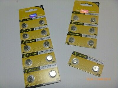 AG3 / 392A / LR141H 1.5 V Alkaline Batteries 2, 4, 10 Count Button Cell Watch