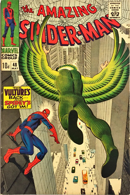 Amazing Spider-Man #48_May_1967_6.5 Fine+ (Fn+)
