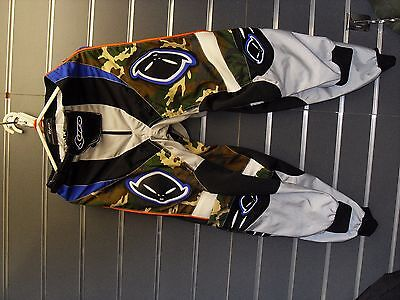 Ufo Youth Camo Motocross Trousers
