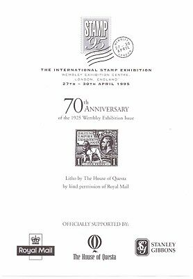 1925 KGV BEE 70th Anniversary Stamp95 Litho Sheet Lovely REDUCED