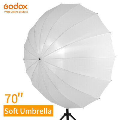 Godox 70'' photography Translucent White Soft Umbrella with Large Diffuser Cover