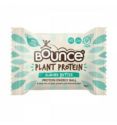 Bounce Plant Protein Almond Butter 42g x 12