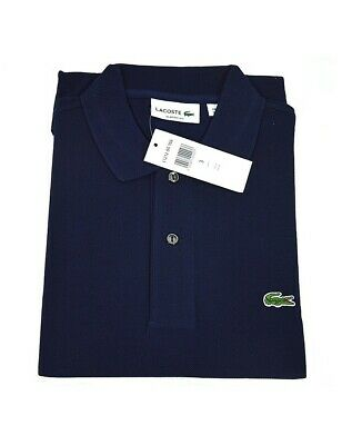 Polo lacoste blu uomo L12.12 manica corta regular fit