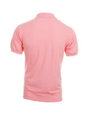 Polo Lacoste uomo rosa  L12.12 manica corta regular fit