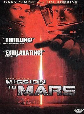 Mission To Mars DVD, Kim Delaney, Elise Neal, Jill Teed, Kavan Smith, Peter Oute
