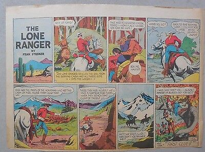 Lone Ranger Sunday Page by Fran Striker and Charles Flanders from 5/23/1943