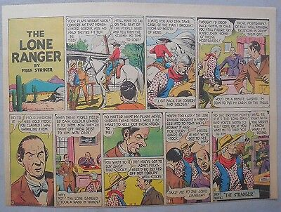 Lone Ranger Sunday Page by Fran Striker and Charles Flanders from 10/3/1943
