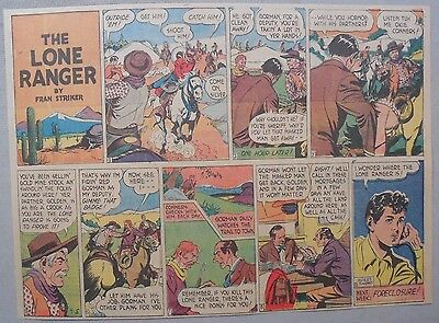 Lone Ranger Sunday Page by Fran Striker and Charles Flanders from 9/5/1943