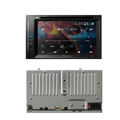 "Pioneer Double Din AVH-200EX CD/MP3/DVD Player 6.2"" Touchscreen Bluetooth"