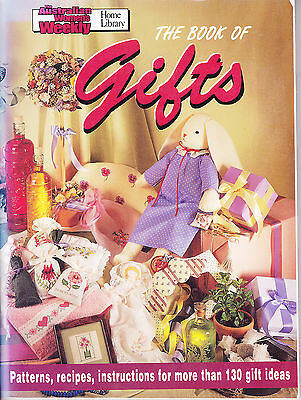 Womens Weekly The Book of Gifts - patterns recipes instructions - 130 gift ideas