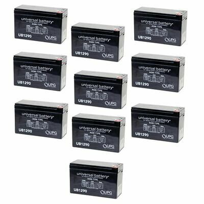 4 Pack Brand Product Mighty Max Battery 12V 7.2AH SLA Battery for Liebert GXT 2100RT-60 UPS