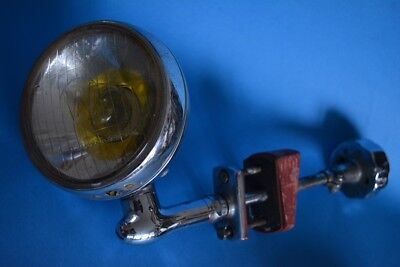 Phare Voiture De Collection  Fouilleur 50' Auteroche  / Old Vintage Car Light