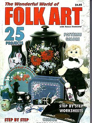 Wonderful World of Folk Art - 25 projects step-by-step instructions