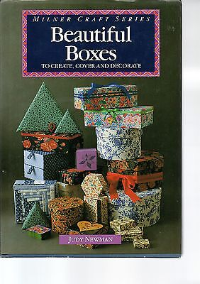 Milner Craft Series - Beautiful Boxes - Judy Newman